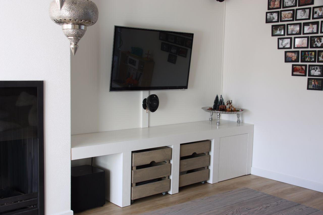 Tv meubel opbergmeubel op maat