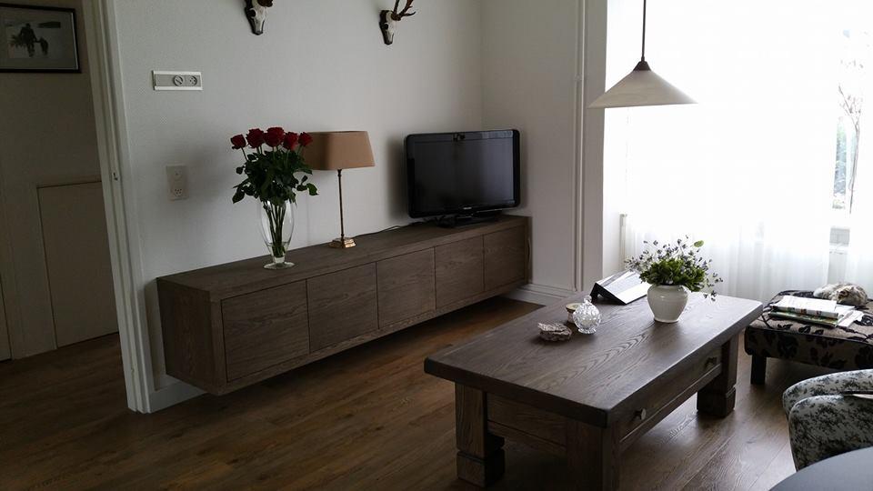Tv meubel op maat zwart
