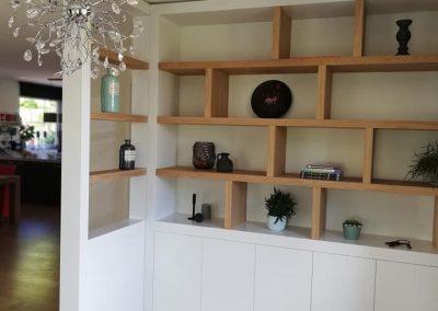 Roomdivider & tv meubel
